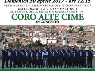 Domenica 30 Aprile 2017 – Coro Alte Cime – Chiesa Parrocchiale