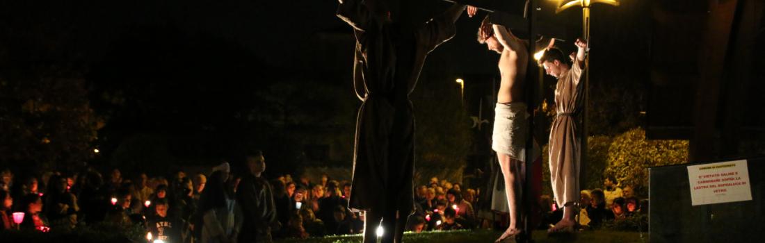 Via Crucis 2017 lungo le vie del Paese