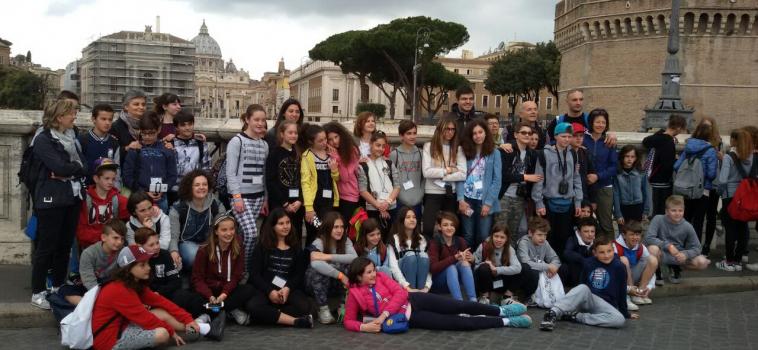 Cresimati in Pellegrinaggio a Roma