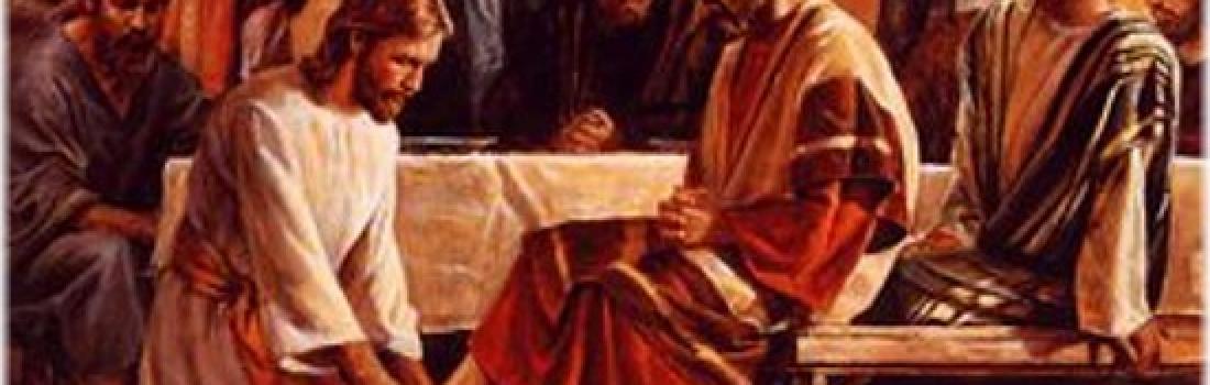 Giovedì Santo – In Coena Domini – Lavanda dei piedi
